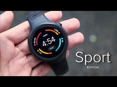 Moto 360 Sport Review!