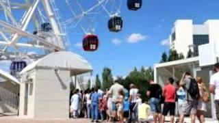 Самое высокое колесо обозрения в Казахстане вызвало ажиотаж!!!