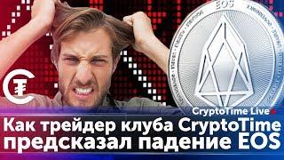 Как трейдер клуба CryptoTime предсказал падение EOS