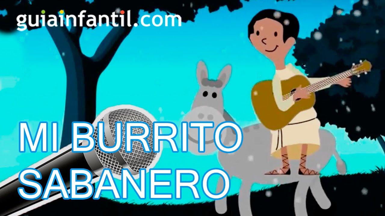 Burrito Sabanero. Canción de Karaoke para Navidad