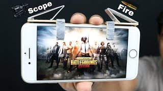 How To Make Phone Trigger Buttons From Popsicle (PUBG Mobile/Fortnite/ROS)