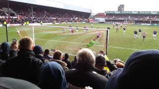 Brentford score last min penalty against Preston !!