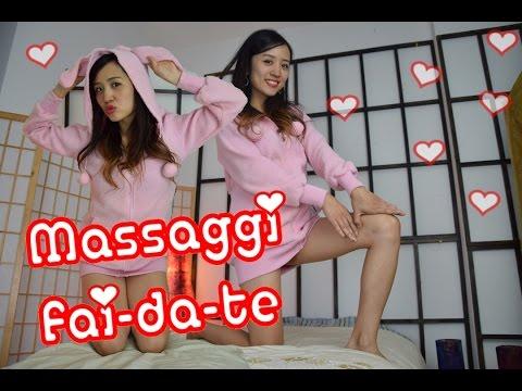 MASSAGGIO giapponese fai-da-te