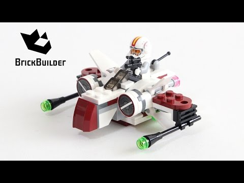 Vidéo LEGO Star Wars 75072 : Starfighter ARC-170