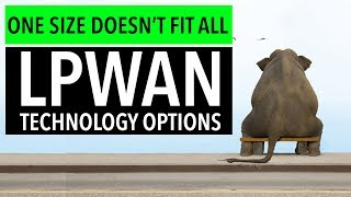 LPWAN Technology Options: One Size Does Not Fit All