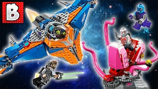 LEGO Guardians of The Galaxy 2 The Milano vs. The Abilisk!!! 76081 | Unbox Build Time Lapse Review