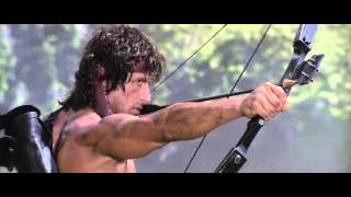 Rambo First Blood Part II The Explosive Arrow Scene