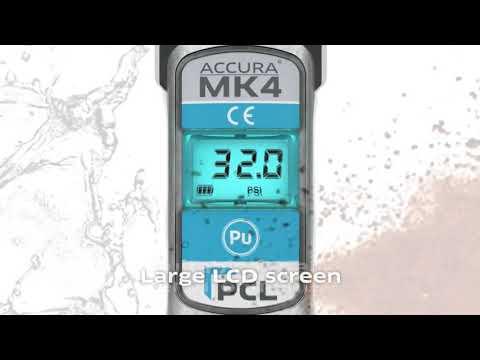 DAC405 ACCURA® MK4D PCL digitální celokovový pneuhustič cejchovaný (0,3-17,2 bar)