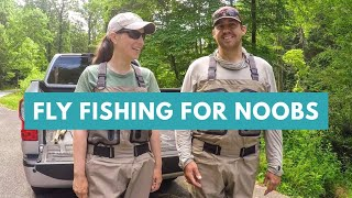 Fly Fishing for Noobs | Fly Fishing North Carolina (French Broad and Davidson River)