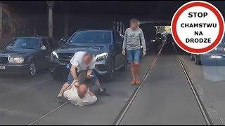 Kierowca kontra pieszy - bójka na jezdni we Wrocławiu #87 Wasze Filmy