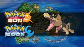 Sandile  - (Pokémon) - Pokemon Sun and Moon | How To Get Sandile