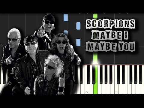 Scorpions - Maybe I Maybe You - Piano Tutorial Synthesia (Download MIDI)