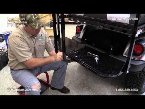 Mad Jax Rear Seat Grab Bar | How to Install on Golf Cart
