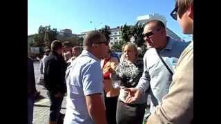 Херсон митинг сепаратисты 18.09