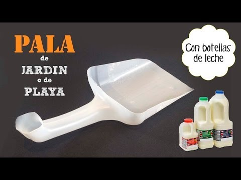Pala de jardín con Botellas Recicladas | Manualidades con Reciclaje