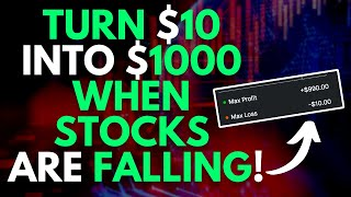 FAVORITE $1 STRATEGY WHEN STOCK MARKET CRASHES! | TRADING OPTIONS