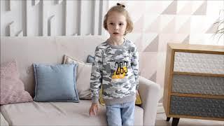 Свитшот милитари для мальчика (8210280) / одежда для мальчиков от производителя / КотМарКот
