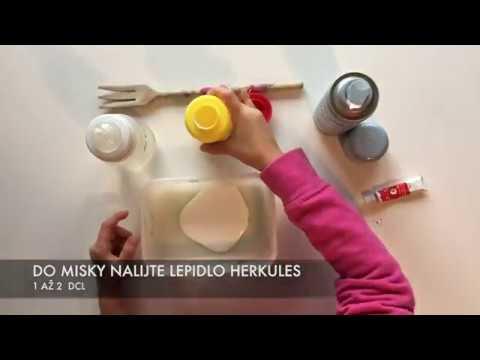 Video v článku DIY domácí sliz