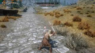 Run trough skyrim with shitty stutters and low fps in cities.