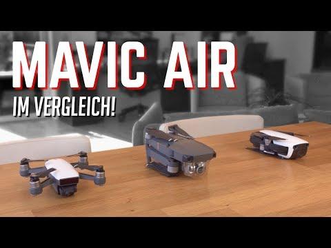 DJI Mavic Air vs Mavic Pro & Spark: Drohnen-Vergleich!   OwnGalaxy