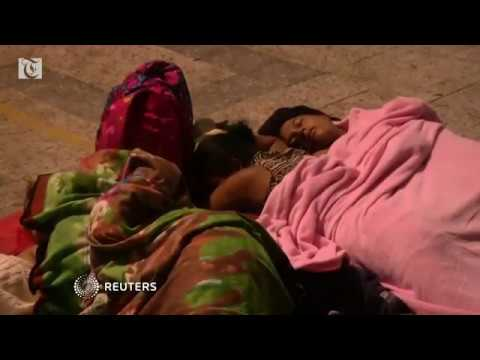 'Risking ourselves' to escape hunger, corruption: Honduran migrants