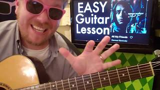 Dermot Kennedy   All My Friends  Guitar Lesson Beginner Tutorial Easy Chords Beginner Strumming