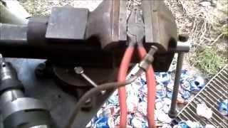 home made 3/16 brake line bending tool