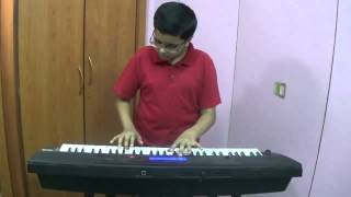 Taaron Mein Sajke - Old Hindi Song played on Keyboard by