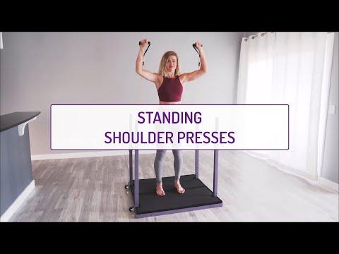 Standing Shoulder Presses