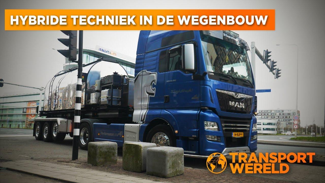 Hybride Techniek in de wegenbouw