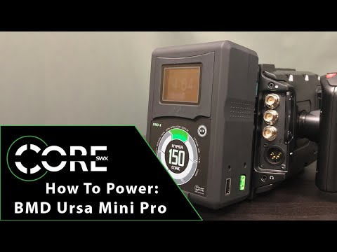 How To Power: Blackmagic Ursa Mini Pro Series