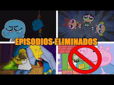 10 Episodios Eliminados de Caricaturas que NO eran para Niños