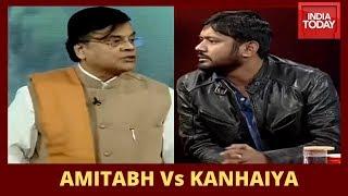 Sinha Calls Kanhaiya Neta Of Tukde Tukde Gang, Kanhaiya Asks Sinha Whether He Is Anti-Godse Or Not