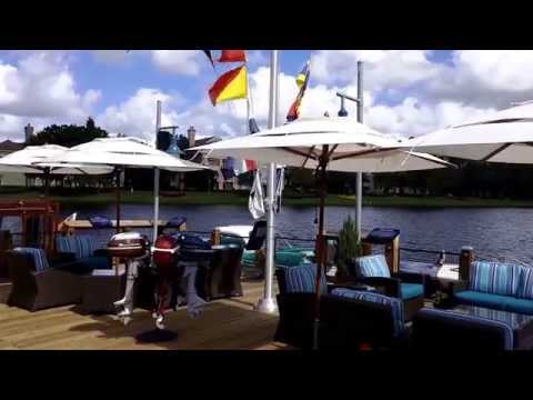 Video Boathouse Restaurant, Double Wind Vent Umbrellas