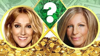 WHO'S RICHER? - Celine Dion or Barbra Streisand? - Net Worth Revealed! (2017)