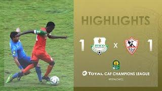 CL CAF: Zesco United FC 1-1 Zamalek SC