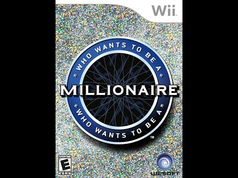 Nintendo Wii Who Wants To Be a Millionaire Game #1