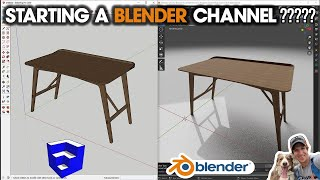 5 REASONS why I started a BLENDER YOUTUBE CHANNEL!