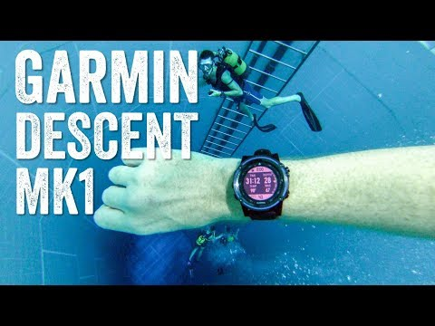 Garmin Descent MK1: How it works (in a crazy dive spot)
