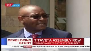 Developing: Taita Taveta Governor Samboja wants County Assembly dissolved