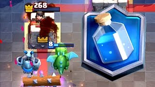 Clash Royale - MASTER III! Best Golem Deck
