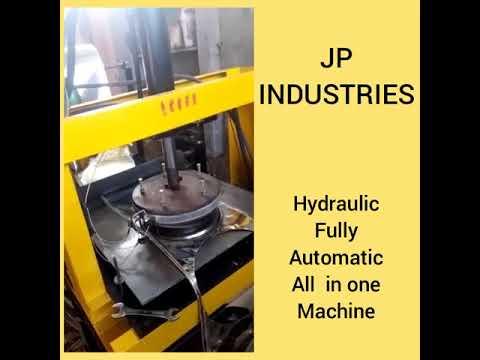 Paper Plate Press Machine