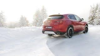 Video: Remus Auspuffanlage mit VSD-Ersatzrohr am Alfa Romeo Stelvio 2.0l Turbo