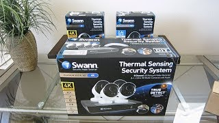 Swann Ultra 4K Security Camera System IP POE Review: Unboxing, Install, Setup & Demo NVR-8580 Kit