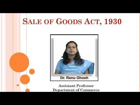 B.Com 2nd Semester - Sale of Goods Act,1930 Part-3