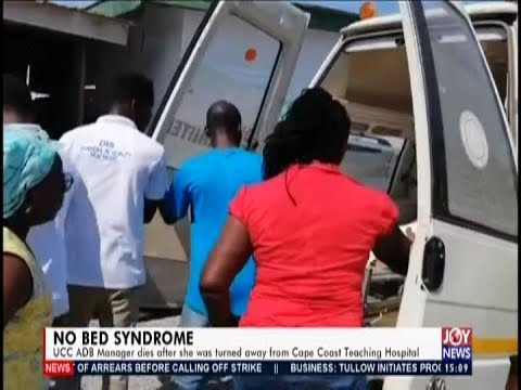 No Bed Syndrome – The Pulse on JoyNews (10-12-19)