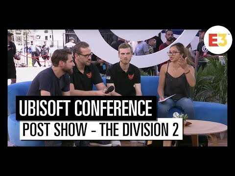 #13 Post show – Tom Clancy's The Division 2 – Ubisoft E3 2018