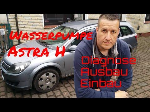 Wasserpumpe Opel Astra Corsa A10XEP Z10XEP Z12XEP Z14XEL / Z14XEP austauschen / reparieren Vauxhall