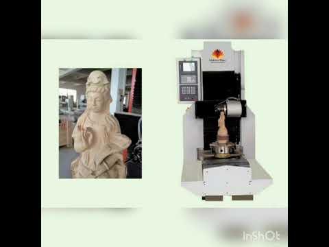 5 Axis Stone Statue Engraving Machine