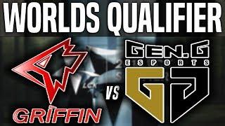 GRF vs GEN Game 5 - LCK Worlds Regional Qualifier - Griffin vs Gen.G G5 | LCK Regional Qualifier